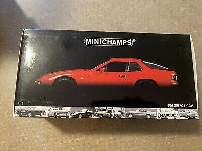 1/18 Minichamps Porsche 924 1985