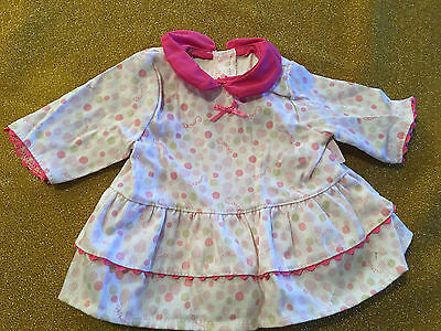 """Corolle Baby Doll Dress Fits 15"""" Bitty Baby, Twins Pink NEW"""