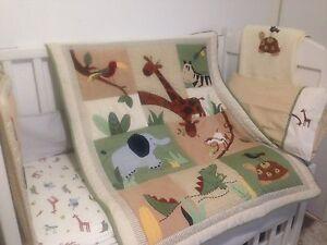 Kidsline Zanzibar 6 piece cot bedding set Burleigh Waters Gold Coast South Preview