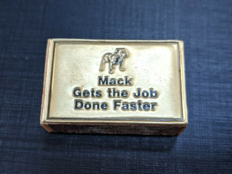 Vintage Mack Truck Match Box