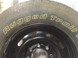 Spare hd rim and tire 265/70r17