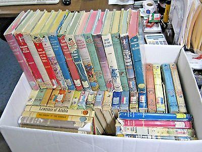 HUGE VINTAGE LOT OF 44 LANDMARK BOOKS Children's History Literature World US