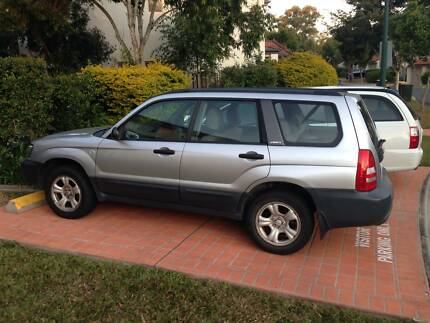 2002 Subaru Forester Wagon Belmont Brisbane South East Preview