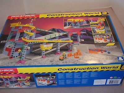 Rokenbok System Construction World #34317 Made in Germany Opened Used