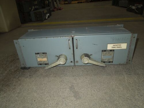 Westinghouse Fdpt3222 60/60a 3p 240v Twin Fusible Panelboard Switch Used