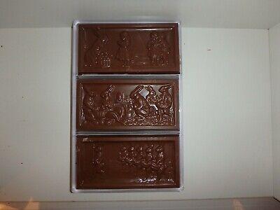 NEU!  SCHOKOLADENFORM 3 x HASEN TAFEL NEW chocolate mold ANTON REICHE # 195-109