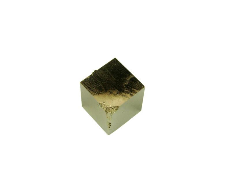 Navajun Spain Mine - Pyrite Cube Crystal With Display Case-#PC36