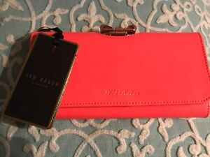 Brand new TED BAKER wallet with crystal bow