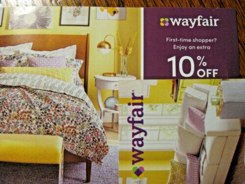 Wayfair Coupon 10% Off Discount Promo Code Expires December 21, 2021 FIRST ORDER