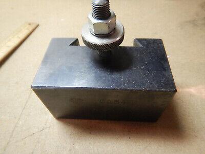 Genuine Aloris Ca54 Ca 54 Tool Holder For Quick Change Metal Lathe Turret