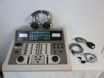 Grason-stadler Gsi 16 1716 Audiometer With Accessories - Tested - Works Well