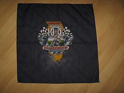 H.O.G. 2001 Rally Rag - Harley Davidson Owners Group Illinois Motorcycle Bandana