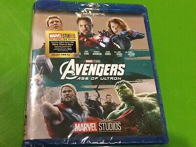 Avengers: Age of Ultron (Blu-Ray Disc + Digital Copy) 2017 - Factory