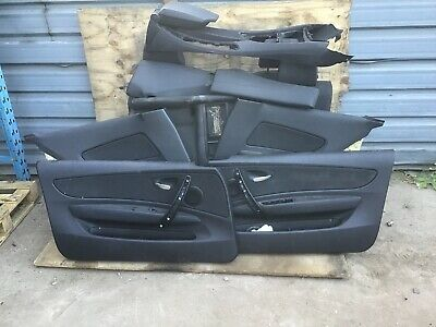 BMW 1 SERIES E82 COUPE INTERIOR FRONT AND REAR HALF LEATHER SEATS