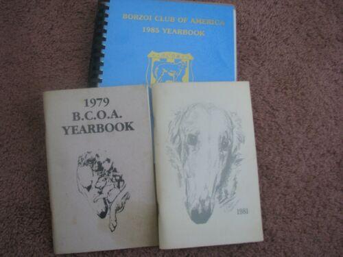 Borzoi Pedigree Books