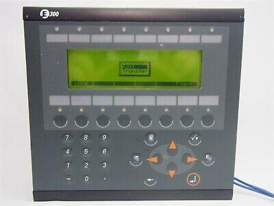 Gl Beijer Electronics Macmta E300 Operator Interface Control With Ifc 50e