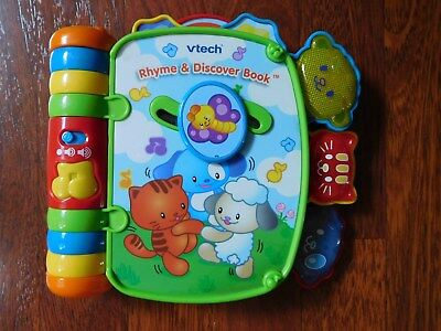 Vtech Rhyme & Discover Book - Electronic Interactive Stories & Songs