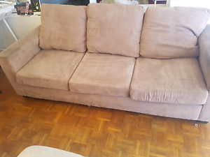 Three seater couch + three seater recliner couch Ramsgate Beach Rockdale Area Preview