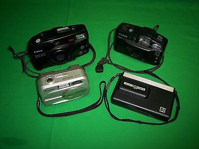 FujiFilm FinePix 2650, Canon Sure Shot Owl, Sure Shot Zoom-S & Kodak Disc 4100