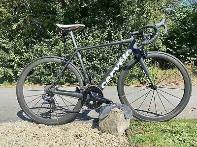 Carbon Cervelo R5 Full Dura Ace Di2 2xCarbon Wheelsets 54cm bespoke and upgraded