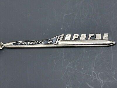 Get All 4.. G1 F1,2,3 Chevrolet Apache Emblem Keychains.31,32,36,38 Series