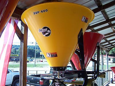 New Tar River  SSP  poly 400  3 pt. Spreader/Seeder --Can ship cheap! Just ask!