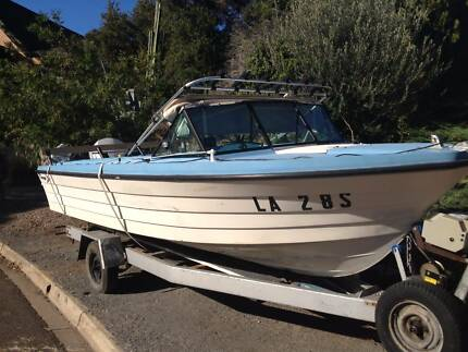 Savage Ensign 5.5 metre Runabout Tranmere Campbelltown Area Preview