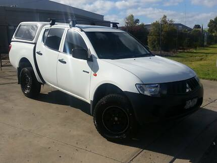 2008 MITSUBISHI TRITON DIESEL DUAL CAB AUTOMATIC Brooklyn Brimbank Area Preview