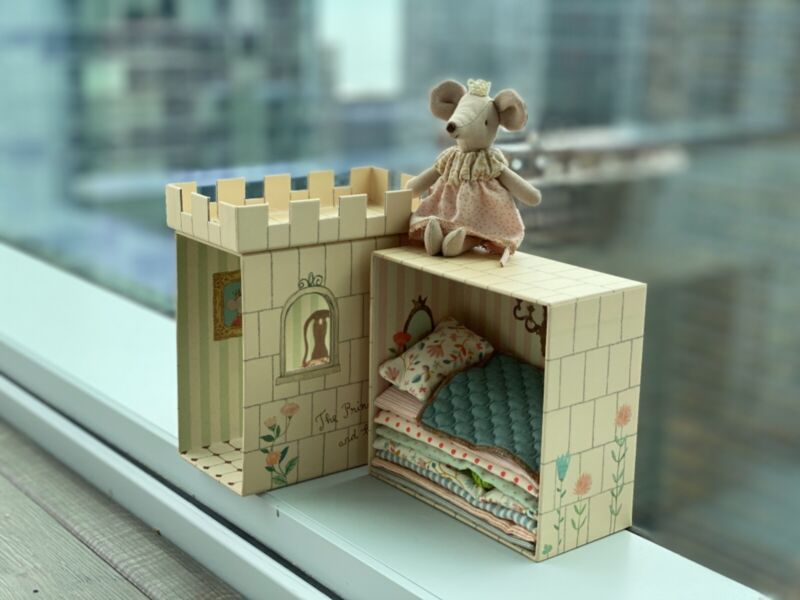 Maileg set The Princess Mouse And The Pea NEW! Maileg toys