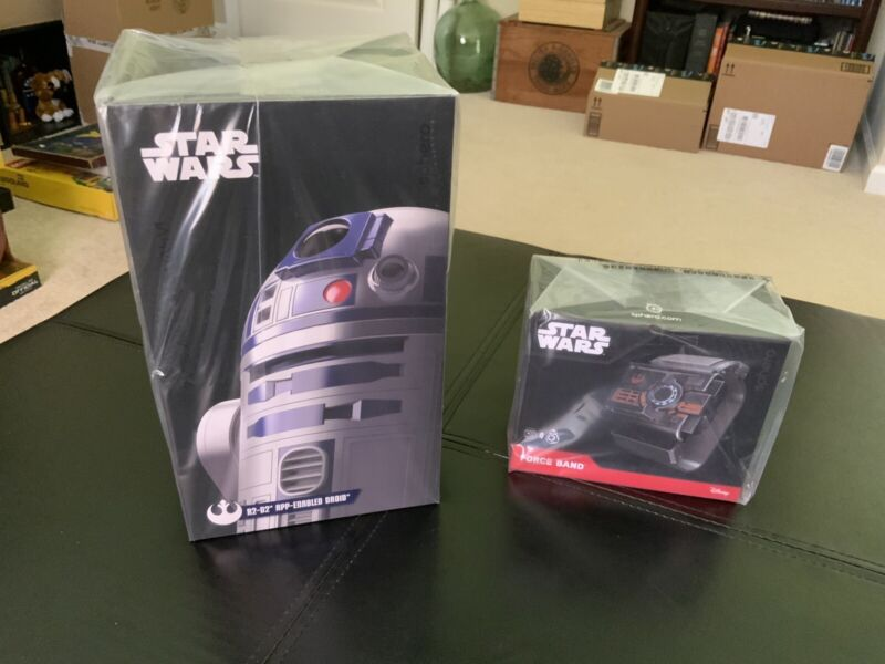 Star Wars Sphero R2-D2 App-Enabled Droid with Force Band NEW UNOPENED!