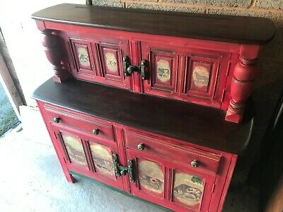 VINTAGE  ANTIQUE SIDEBOARD FOR UPCYCLING