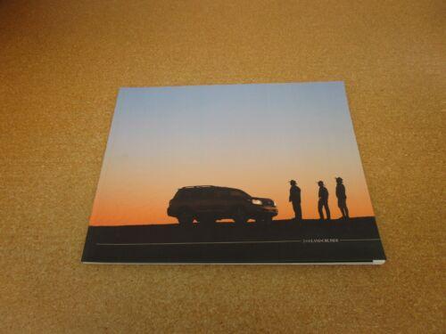 ORIGINAL 2008 Toyota Land Cruiser sales brochure 68 pg literature