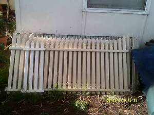 Steel  White Picket Fence,  Double Driveway gates,  iron Windsor Gardens Port Adelaide Area Preview