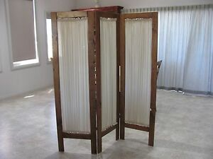 3 Panel Room Divider / Privacy Screen Hallett Cove Marion Area Preview