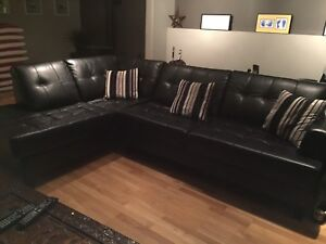 Leather Sofa Bed-Sold Pending Pick-up