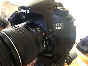 Canon 60D with extra