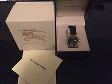 Men's Burberry watch Rutherford Maitland Area Preview
