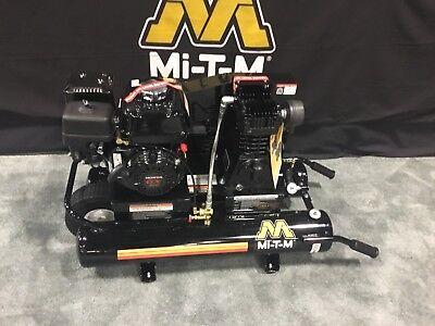 New Mi-t-m 19cc Gas-powered 8-gallon 13.9 Cfm Single Stage Honda Engine Portable