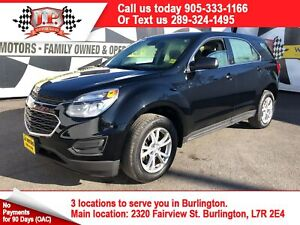 2017 Chevrolet Equinox LS, Automatic, Back Up Camera, AWD