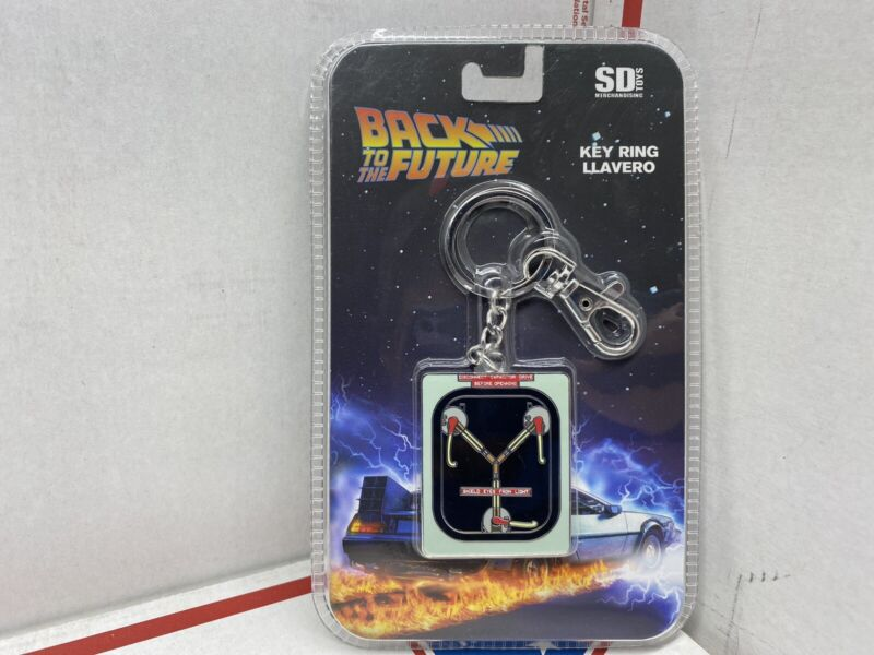 Back To The Future Flux Capacitor Key Tag Llavero SD Toys Mercandise