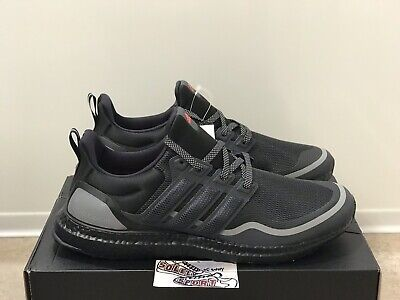 New Adidas Ultra Boost Reflective Running Shoes Black EG8105 Yeezy Mens 12