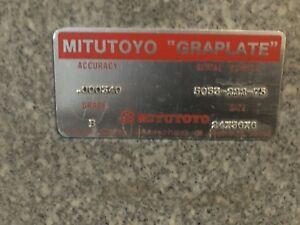 Mitutoyo Graplate