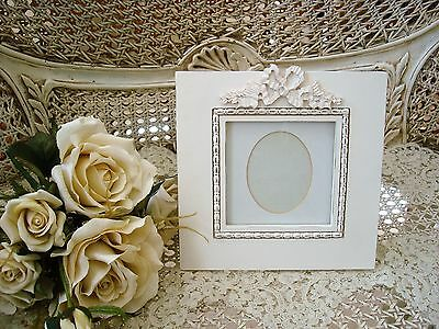 SHABBY FRENCH CHIC CHARMING BOW RIBBON PICTURE Framework ****SO PRETTY***