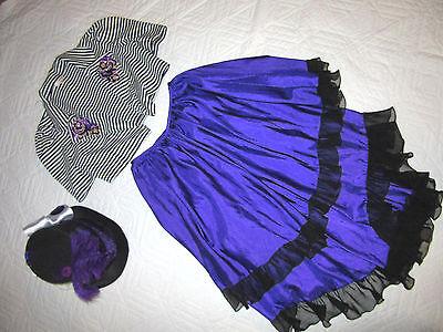 CIRCUS ringmaster STEAMPUNK jacket COSTUME size 6  cosplay fantasy Mardi Gras](Ringmaster Jacket Women)