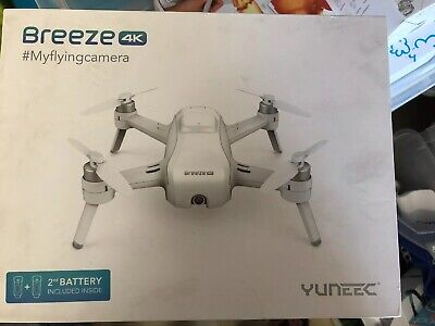 YUNEEC Task QuadCopter Drone with 2 Batteries, 4K UHD Recording (YUNFCAUS)