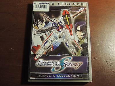 Gundam Seed Destiny - Part 1 (DVD, 2009, 6-Disc Set, Anime Legends -