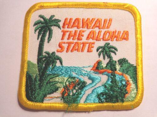 Hawaii The Aloha State Cloth Patch (#1850)