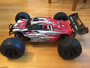 HPI 1/8 Scale Trophy Flux Truggy RC Car