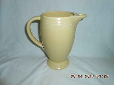 Vintage Homer Laughlin Fiestaware Coffee Pot Yellow (Older) No Lid Nice - Older Coffee Pot