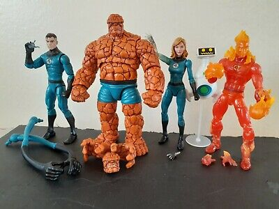 Marvel Legends Walgreens Mr Fantastic 4 Thing Invisible Woman Human Torch Lot